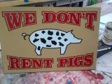 <h5>Wood Sign Rustic</h5><p>Custom rustic wood signs </p>