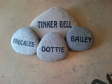 <h5>Engraved Stone</h5><p>Engraved Personalized Stone</p>