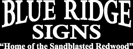 Blue Ridge Signs