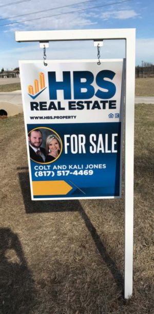 Hbs Real Estate Sign