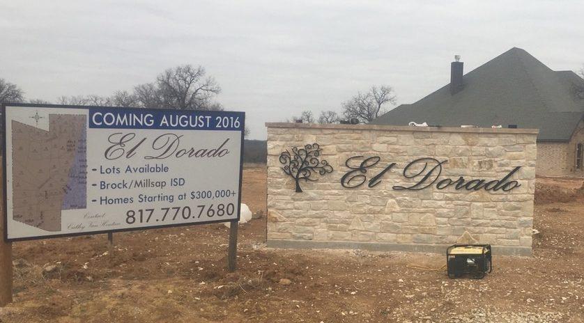 El Dorado Real Estate Sign