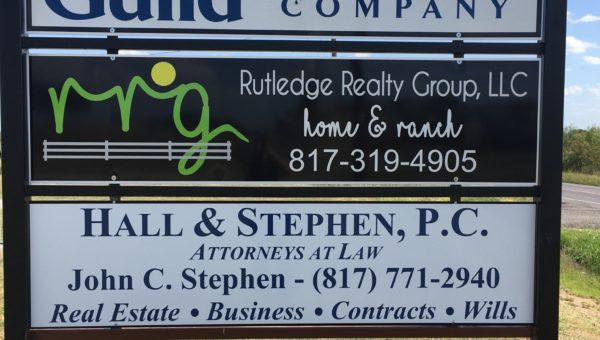 Multi Tenant Sign Parker County
