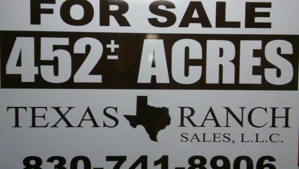 texas ranch sales